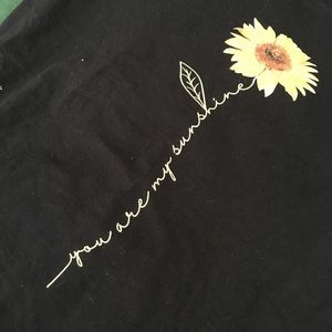 Cute sunflower T